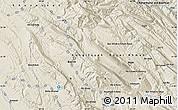Shaded Relief Map of Zīrnā-ye Soflá