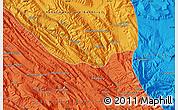 Political Map of Ābādeh