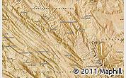 Satellite Map of Ābādeh