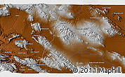"""Physical 3D Map of the area around 31°11'6""""N,51°55'29""""E"""