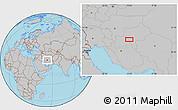 Gray Location Map of Seneh'ī