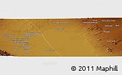 Physical Panoramic Map of Seneh'ī