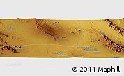 Physical Panoramic Map of Now
