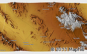 """Physical 3D Map of the area around 31°11'6""""N,56°10'29""""E"""