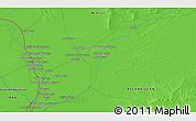 Political 3D Map of Ḏoktor Pīr Moḩammad