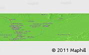 Political Panoramic Map of Ḏoktor Pīr Moḩammad