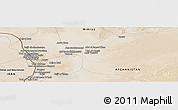 Satellite Panoramic Map of Ḏoktor Pīr Moḩammad
