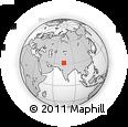 Outline Map of Valtoha, rectangular outline