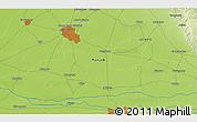 Physical 3D Map of Jalandhar