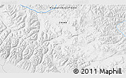 """Physical 3D Map of the area around 31°11'6""""N,81°40'30""""E"""