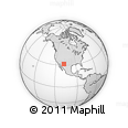 """Outline Map of the Area around 31° 39' 38"""" N, 107° 52' 30"""" W, rectangular outline"""