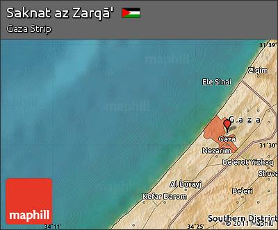 Free Satellite Map of Saknat Az Zarq
