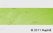 "Physical Panoramic Map of the area around 31° 39' 38"" N, 43° 25' 29"" E"