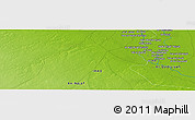 "Physical Panoramic Map of the area around 31° 39' 38"" N, 44° 16' 29"" E"