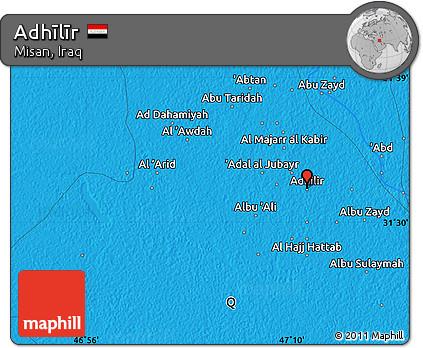 Political Map of Adhīlīr