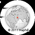 Outline Map of Semīrom, rectangular outline