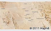 Satellite 3D Map of Chāh Khāvar