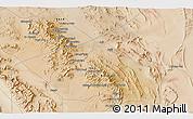 Satellite 3D Map of Āb Sang