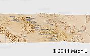 Satellite Panoramic Map of Ma`dan-e Kūshk