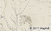 """Shaded Relief Map of the area around 31°39'38""""N,57°1'29""""E"""