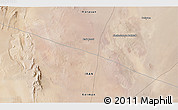 """Satellite 3D Map of the area around 31°39'38""""N,57°52'30""""E"""