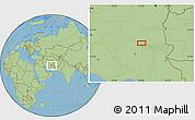 "Savanna Style Location Map of the area around 31°39'38""N,57°52'30""E"