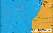 Political Map of Kūraha-ye Arghandāb