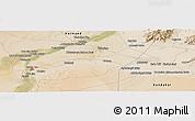 Satellite Panoramic Map of Kūraha-ye Arghandāb