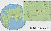 Savanna Style Location Map of `Abd oş Şamad Kalay