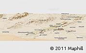 Satellite Panoramic Map of Kandahār