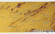 Physical 3D Map of Ambār