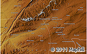 """Physical Map of the area around 31°39'38""""N,67°13'29""""E"""