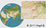 """Satellite Location Map of the area around 31°39'38""""N,68°4'29""""E"""