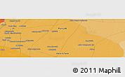 Political Panoramic Map of Jhang