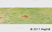 Satellite Panoramic Map of Amritsar