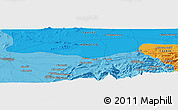 """Political Panoramic Map of the area around 31°39'38""""N,7°34'30""""W"""