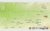 Physical 3D Map of Marrakech