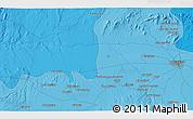 Political 3D Map of Marrakech