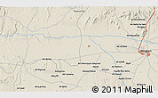 Shaded Relief 3D Map of Marrakech