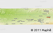 """Physical Panoramic Map of the area around 31°39'38""""N,8°25'30""""W"""