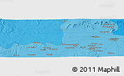 """Political Panoramic Map of the area around 31°39'38""""N,8°25'30""""W"""