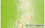 """Physical Map of the area around 31°20'36""""S,138°37'30""""E"""