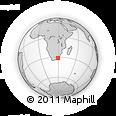 Outline Map of Kwa Madiba, rectangular outline