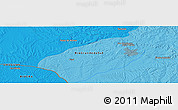 """Political Panoramic Map of the area around 31°20'36""""S,54°19'30""""W"""