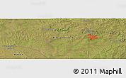 "Satellite Panoramic Map of the area around 31°20'36""S,54°19'30""W"