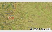 Satellite 3D Map of Salto