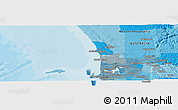 Political Panoramic Map of Perth