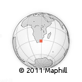 Outline Map of Zidindi Clinic, rectangular outline
