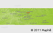 Physical Panoramic Map of Poblado Martinote