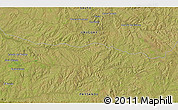 """Satellite 3D Map of the area around 31°49'7""""S,56°52'30""""W"""